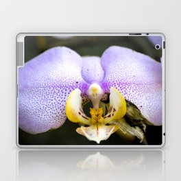 Macrophotography: Pink Orchid Laptop & iPad Skin