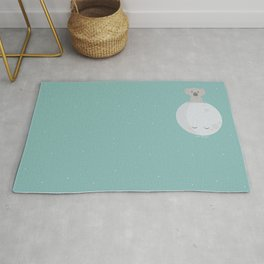 To the Moon and back Rug