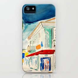 Street in Louisiana iPhone Case