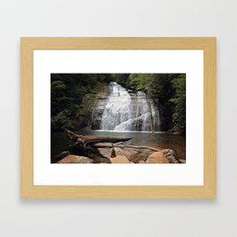 Hidden Waterfalls Framed Art Print