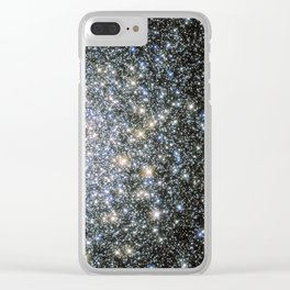 Cosmic Fairy Lights Clear iPhone Case