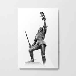 Richard The Third Leicester Metal Print
