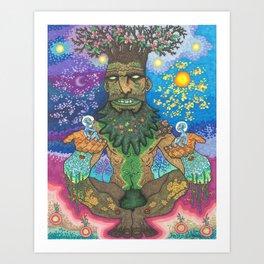 Oak Of Life Art Print