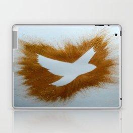 THEPEACEBOMB GOLDE GLITTER Laptop & iPad Skin