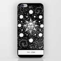 tarot iPhone & iPod Skins featuring Star Tarot by Corinne Elyse
