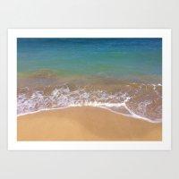 the Pacific Ocean  Art Print