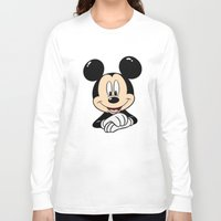 mickey Long Sleeve T-shirts featuring Mickey by Yuliya L