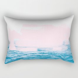 Ocean + Pink #society6 #decor #buyart Rectangular Pillow