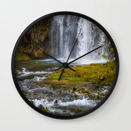 Spearfish Falls Wall Clock