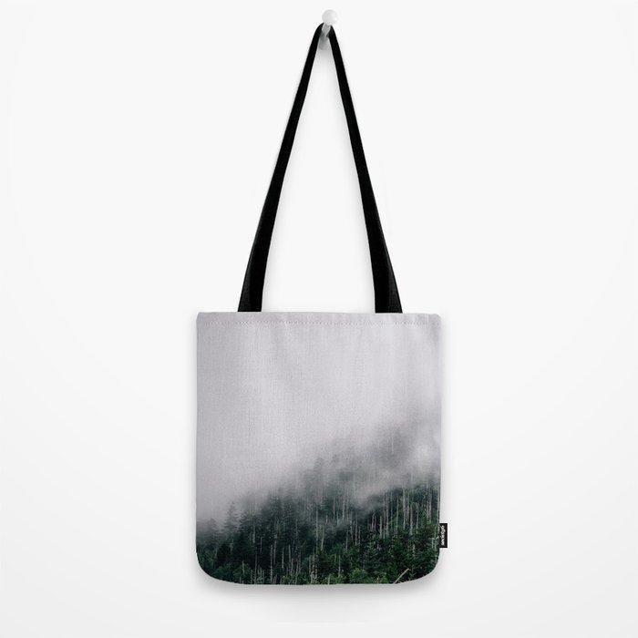 Misty Great Smoky National Park  Tote Bag