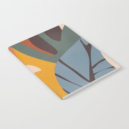 Abstract Art Jungle Notebook