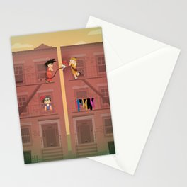 The Nick Yorkers in April Stationery Cards
