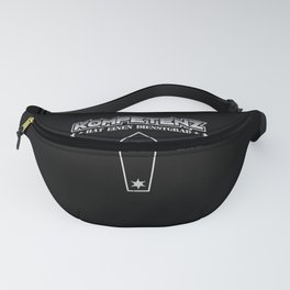 Funny police commissioner rank shirt police Fanny Pack