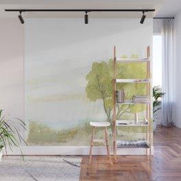Lakeside Tree Wall Mural