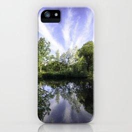 Hatfield Forest Lake England Essex Summer iPhone Case