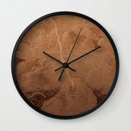 Chute dans Jupiter Wall Clock