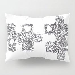 Puzzle Pieces Pillow Sham