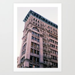 """New Yorkers Don't Look Up"" Art Print"