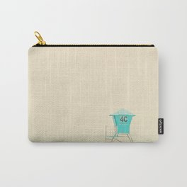 the sound of the outer ocean on the beach ... Carry-All Pouch