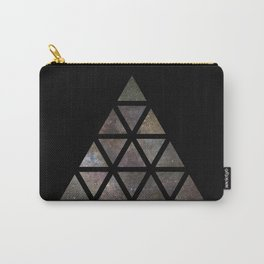 Galaxy Triangular Multicolor Carry-All Pouch