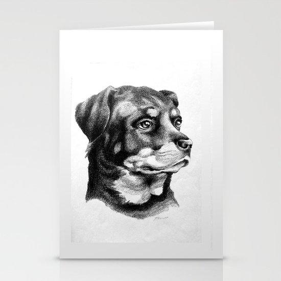 Rottweiler Devotion Stationery Cards