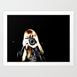 Little Bit Meta?  Art Print