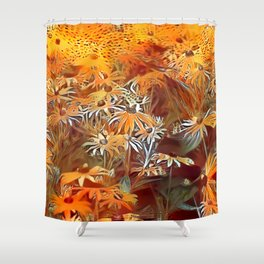 Atomic  Field Shower Curtain