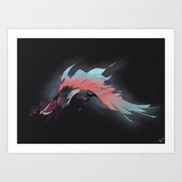 Ghost Dragon Art Print