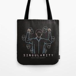 BTS V SINGULARITY LINE ART Tote Bag