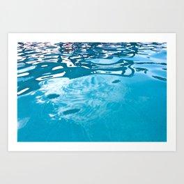Pool Print Art Print