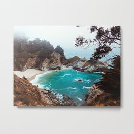 Julia Pfeiffer Burns State Park Metal Print