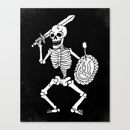 the dead cannot die Canvas Print