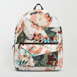 Texture Camo tropical Backpack