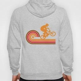Retro Style BMX Bike Rider Vintage Hoody