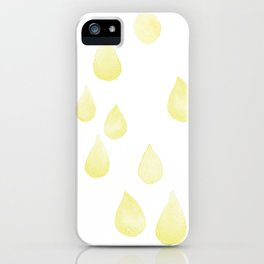 gotas de luz iPhone Case