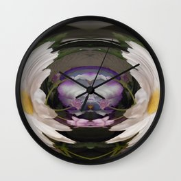 """Distorted Beauty"" Wall Clock"