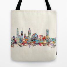 Montreal Quebec skyline Tote Bag