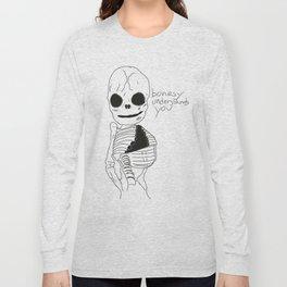 bonesy understands you  Long Sleeve T-shirt