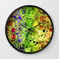 circles Wall Clocks featuring *Circles* by Mr and Mrs Quirynen