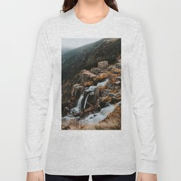 Autumn falls - Landscape and Nature Photography Long Sleeve T-shirt