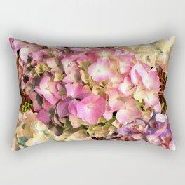 Hydrangea Sunlight Rectangular Pillow