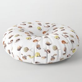 Snail party Floor Pillow