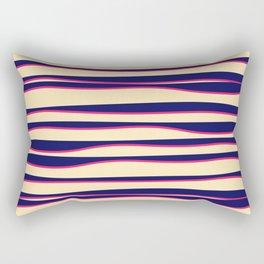 Funky Zebra Rectangular Pillow