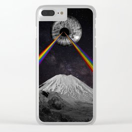 Rainbow Eye Clear iPhone Case