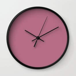 Delicate Blush ~ Rose Wall Clock
