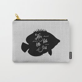 Big Fish Little Fish Carry-All Pouch