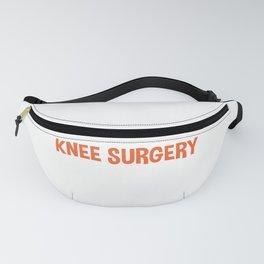 Knee Surgery Survivor Operation Equipment Gift Fanny Pack