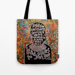 RBG quote art Tote Bag