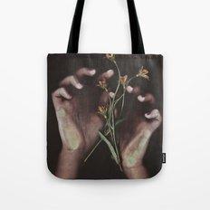 DELICATE HANDS Tote Bag