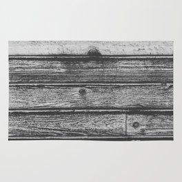 Weathered Wood Wall Rug